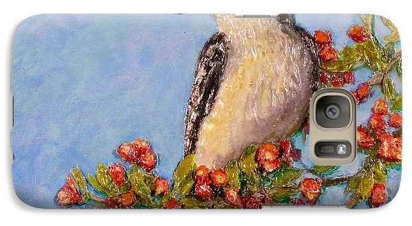 Galaxy Case featuring the painting Northern King Bird  by Joe Bergholm