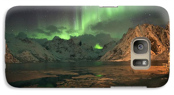 Northern Light In Lofoten, Nordland 1 Galaxy S7 Case