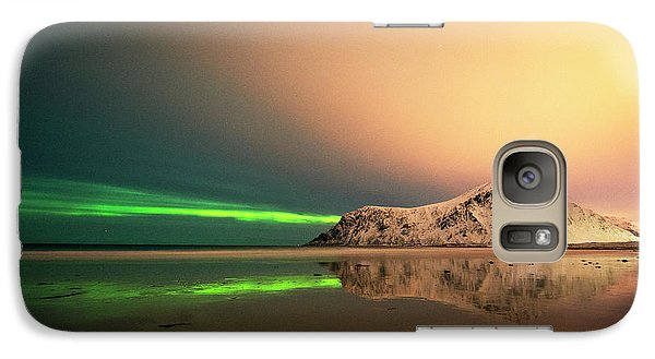 Northern Light In Lofoten Nordland 5 Galaxy S7 Case