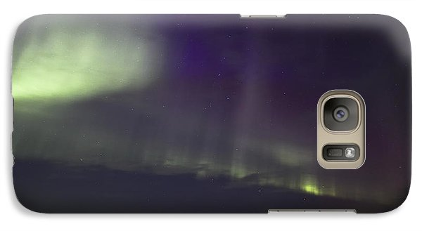 Galaxy Case featuring the photograph Northern Lights Near Yorkton by Ryan Crouse