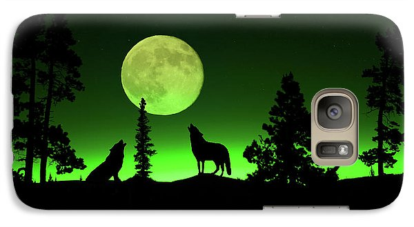 Galaxy Case featuring the photograph Northern Lights by Shane Bechler