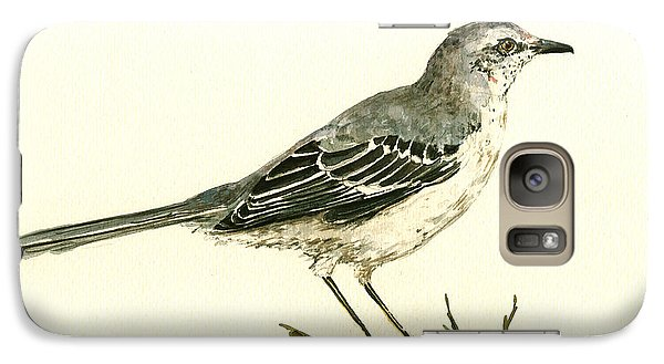 Mockingbird Galaxy S7 Case - Northern Mockingbird by Juan  Bosco