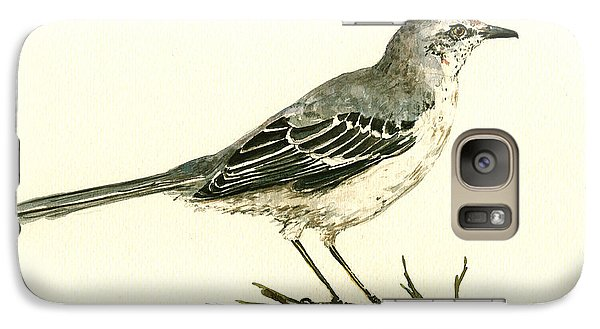 Northern Mockingbird Galaxy S7 Case by Juan  Bosco