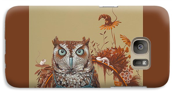 Northern Screech Owl Galaxy S7 Case
