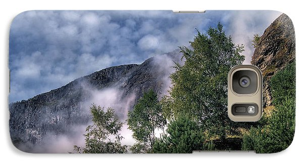 Galaxy Case featuring the photograph Norway Mountainside by Jim Hill