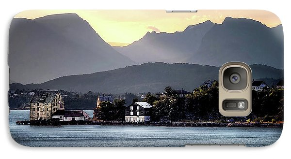 Galaxy Case featuring the photograph Norwegian Sunrise by Jim Hill