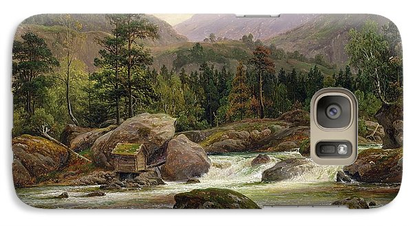 Norwegian Waterfall Galaxy S7 Case