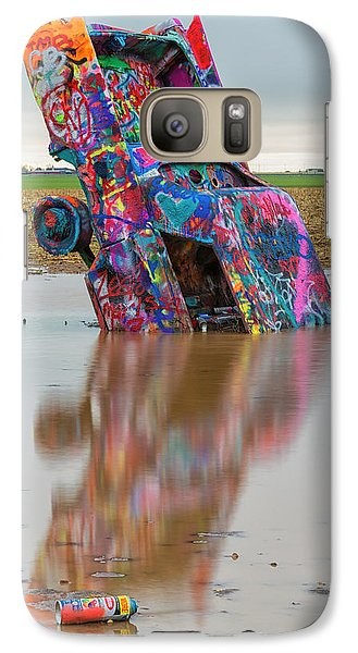 Galaxy Case featuring the photograph Nose Dive by Stephen Stookey