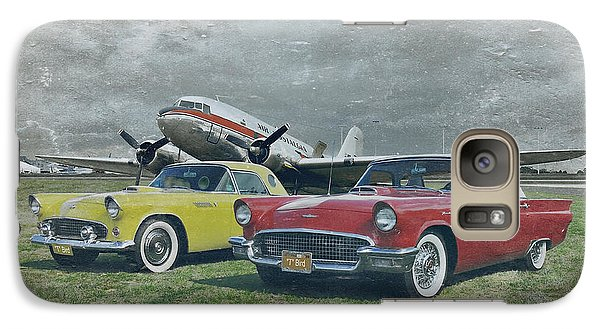 Galaxy Case featuring the photograph Nostalgia Airlines by Steven Agius