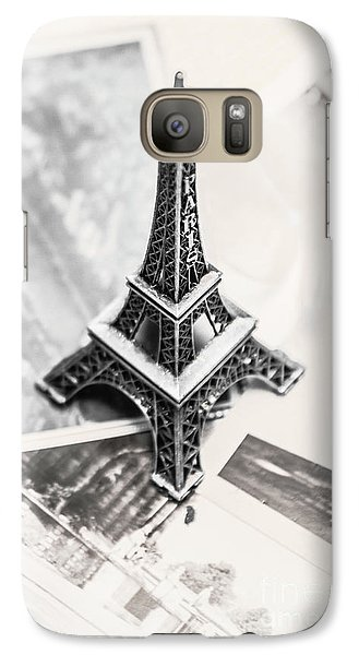 Eiffel Tower Galaxy S7 Case - Nostalgia In France by Jorgo Photography - Wall Art Gallery