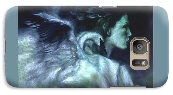 Galaxy Case featuring the painting Nostalgia by Ragen Mendenhall
