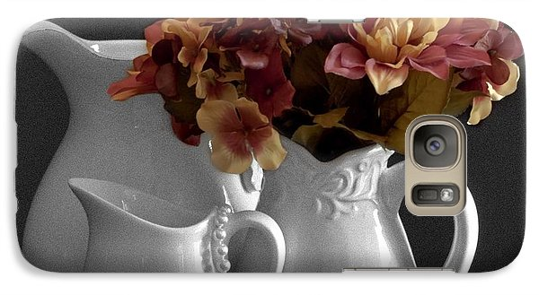 Galaxy Case featuring the photograph Not All Is Black And White by Sherry Hallemeier