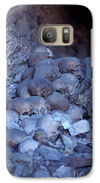 Galaxy Case featuring the photograph Not Anyone Maight Become A King - Mummy Mummies Of Ancient Egypt  by Urft Valley Art
