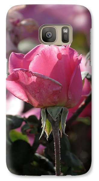 Galaxy Case featuring the photograph Not Perfect But Special by Laurel Powell