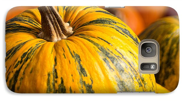 Galaxy Case featuring the photograph Not Your Average Pumpkin by Dick Botkin