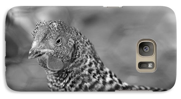 Galaxy Case featuring the photograph Not Your Chicken Dinner by Lora Lee Chapman
