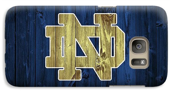 Notre Dame Barn Door Galaxy S7 Case