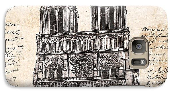 Notre Dame De Paris Galaxy S7 Case