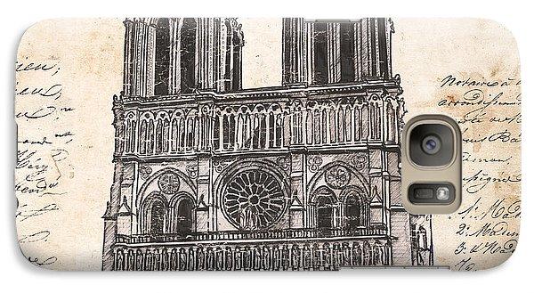 Notre Dame De Paris Galaxy S7 Case by Debbie DeWitt