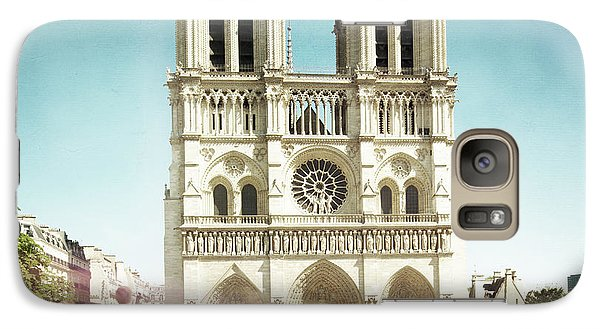 Galaxy Case featuring the photograph Notre Dame by Hannes Cmarits
