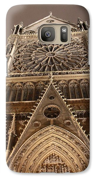 Galaxy Case featuring the photograph Notre Dame North by Christopher Kirby