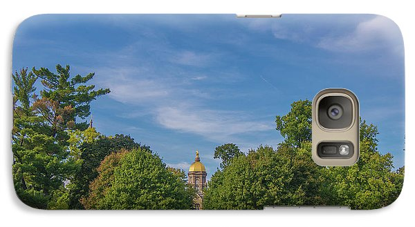 Galaxy Case featuring the photograph Notre Dame University 6 by David Haskett