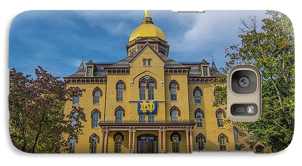 Notre Dame University Golden Dome Galaxy S7 Case by David Haskett