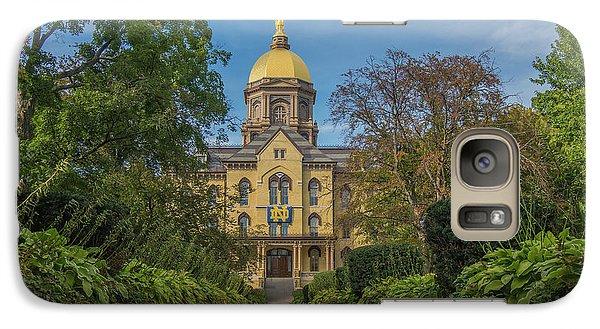 Notre Dame University Q Galaxy S7 Case by David Haskett