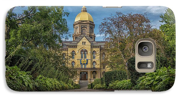 Galaxy Case featuring the photograph Notre Dame University Q1 by David Haskett
