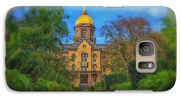 Notre Dame University Q2 Galaxy S7 Case by David Haskett