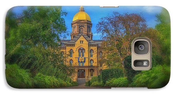 Galaxy Case featuring the photograph Notre Dame University Q2 by David Haskett