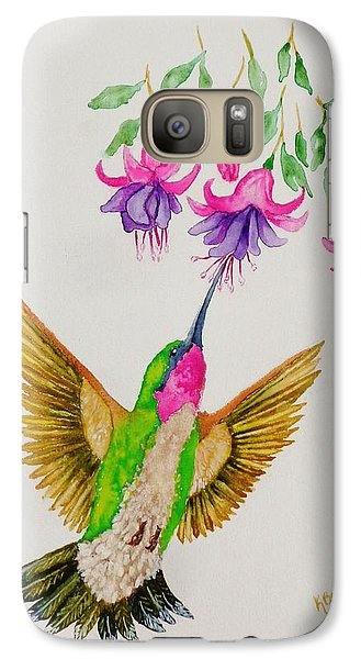 Galaxy Case featuring the painting Nourishment  by Katherine Young-Beck