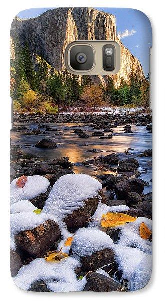 Yosemite National Park Galaxy S7 Case - November Morning by Anthony Michael Bonafede