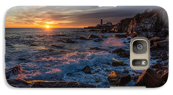 Galaxy Case featuring the photograph November Morning by Paul Noble