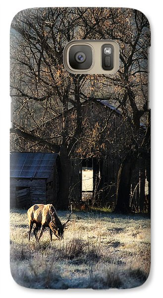 Galaxy Case featuring the photograph November Sunrise by Michael Dougherty