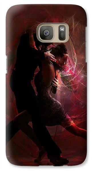 Galaxy Case featuring the digital art Now And Forever by Shanina Conway