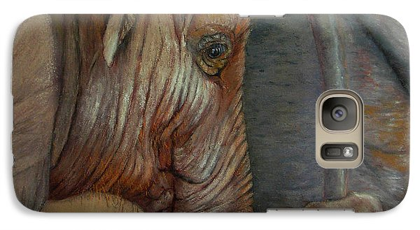 Galaxy Case featuring the painting Now You Hold On Tight by Ceci Watson