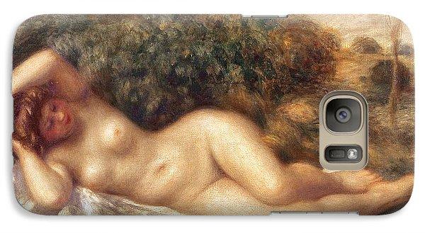 Nude Galaxy S7 Case by Pierre Auguste Renoir