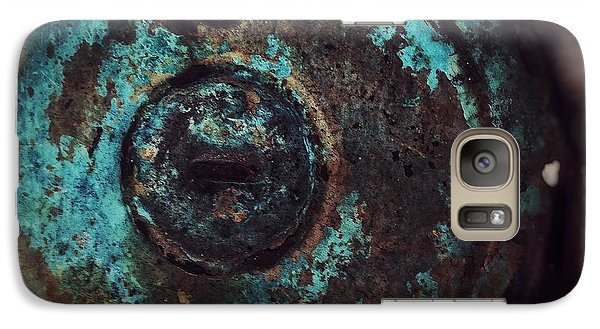 Galaxy Case featuring the photograph Number 6 by Olivier Calas