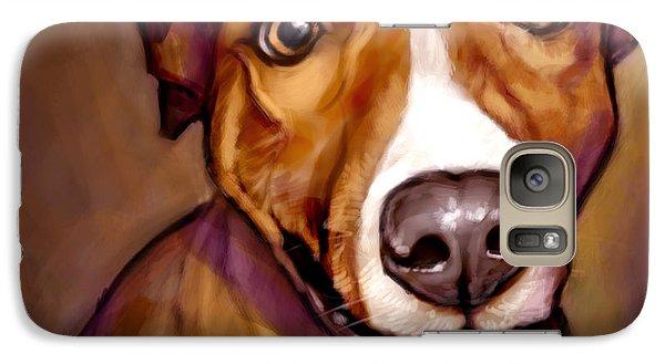 Portraits Galaxy S7 Case - Number One Fan by Sean ODaniels