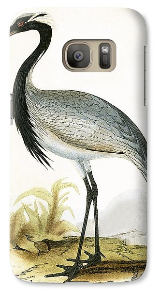Numidian Crane Galaxy S7 Case by English School