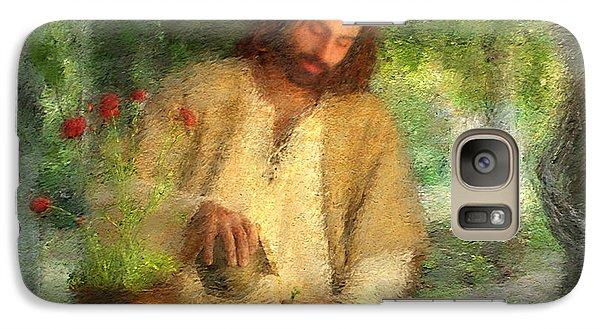 Religion Galaxy S7 Case - Nurtured By The Word by Greg Olsen