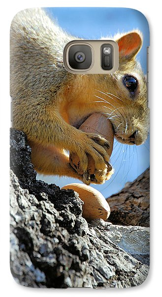 Galaxy Case featuring the photograph Nutjob by Debbie Karnes