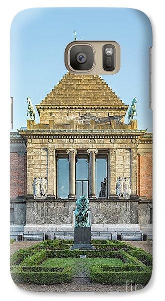 Galaxy Case featuring the photograph Ny Carlsberg Glyptotek In Copenhagen by Antony McAulay