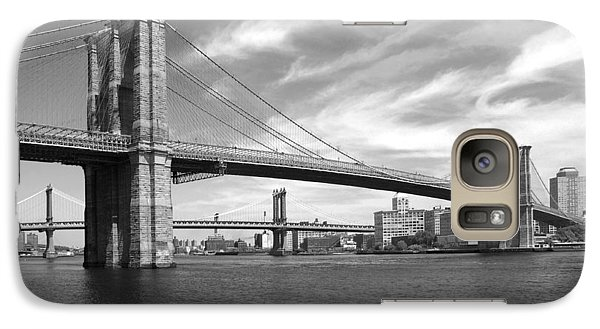 Nyc Brooklyn Bridge Galaxy S7 Case