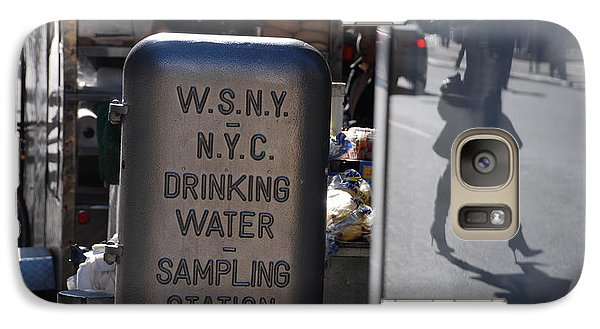 Galaxy Case featuring the photograph Nyc Drinking Water by Rob Hans
