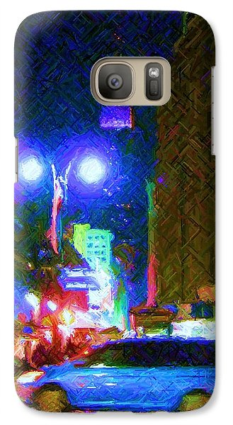 Galaxy Case featuring the photograph Nyc In Tie Dye by Susan Carella