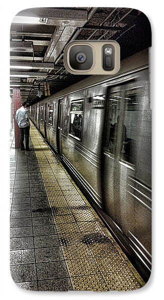 Nyc Subway Galaxy S7 Case by Martin Newman