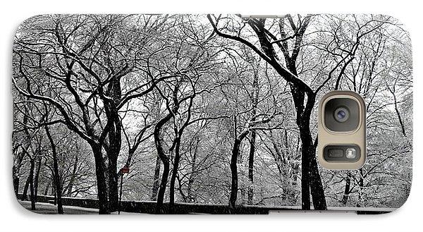 Galaxy Case featuring the photograph Nyc Winter Wonderland by Vannetta Ferguson