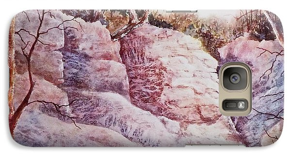 Galaxy Case featuring the painting Oakfield Ridge by Carolyn Rosenberger